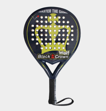 Black Crown Wolf 2021 padelracket