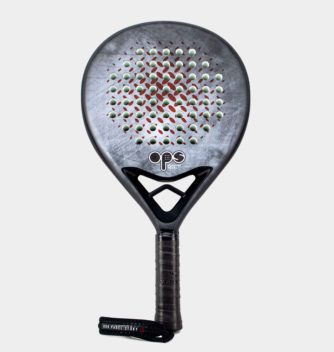 Our Padel Story HEX12K padelracket