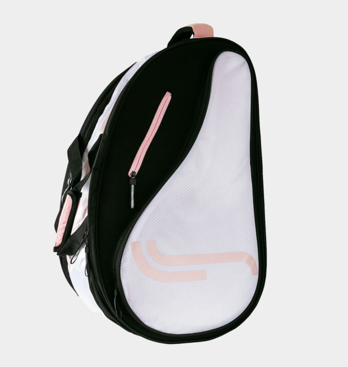 RS Classic Padel Bag White Black Pink padelväska